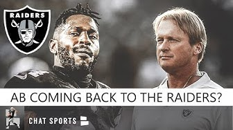 Antonio Brown Back To Raiders? Raiders Rumors: AB Talking With Jon Gruden About Coming To Las Vegas?