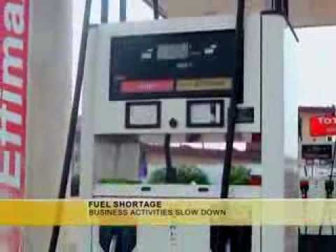 FUEL SHORTAGE IN ACCRA SLOW DOWN BUSINESS