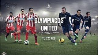 Олимпиакос - МЮ [PES 14] 1/8 финала Лига Чемпионов