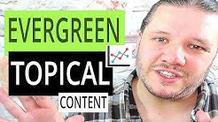 Topical Viral Trends vs Evergreen Video Content - Alan Spicer