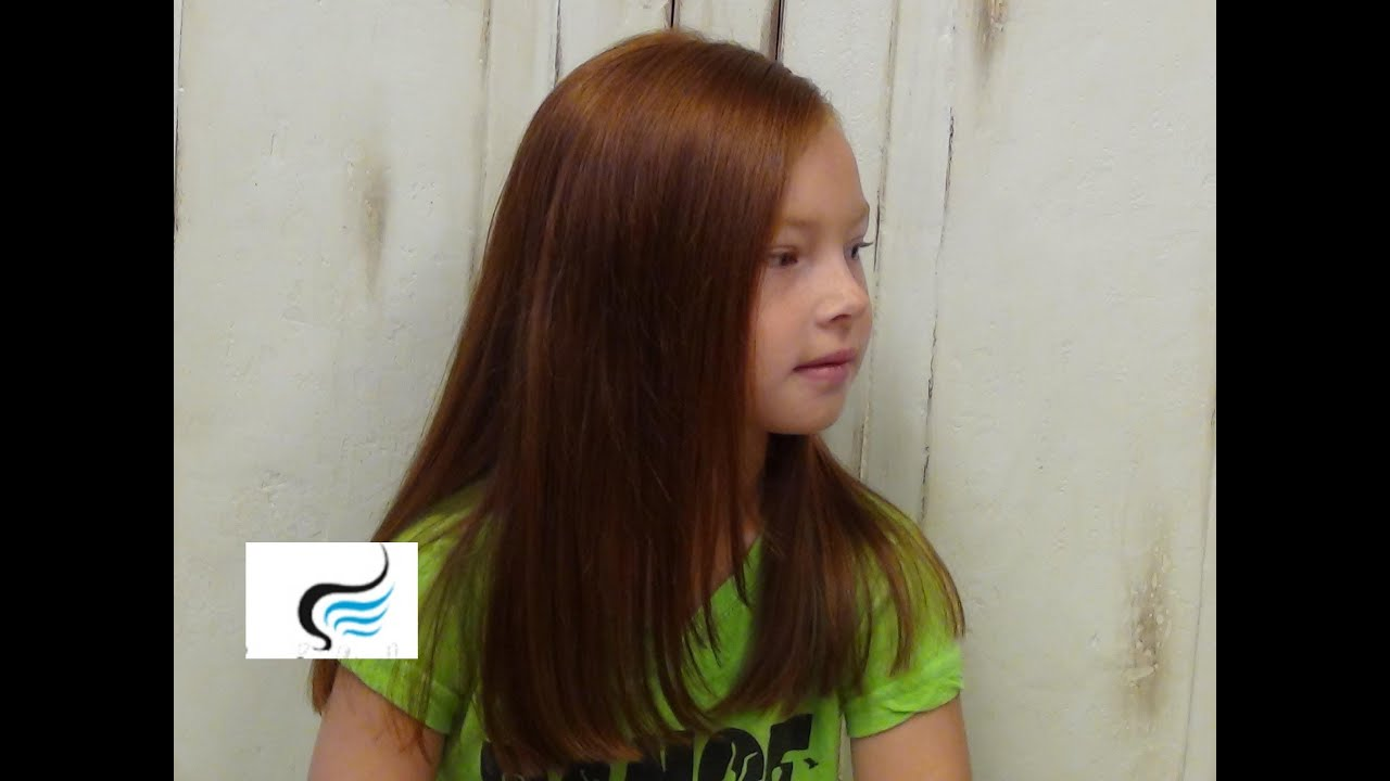 Soft (Long Hair Haircuts) For Young Girl Hairstyles - YouTube