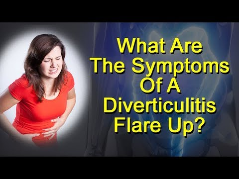 diverticulitis flare up signs