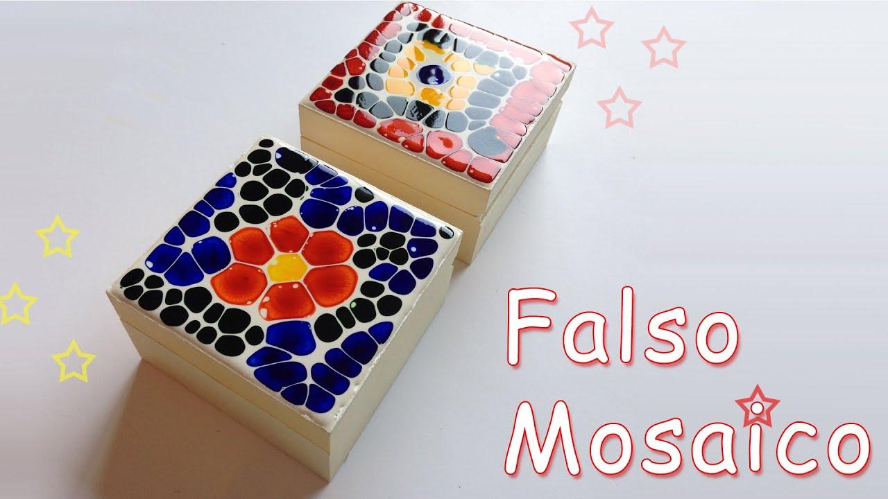 Manualidades como hacer falso mosaico manualidades para - Manualidades como hacer ...