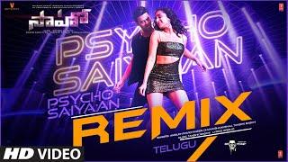 Saaho : Psycho Saiyaan Remix |Prabhas,ShraddhaK |Anirudh Ravichander, Dhvani B, Tanishk B, Groovedev