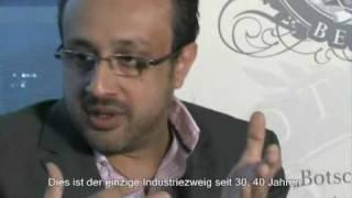 Prinz Shah Salim Khan zu Gast in der Botschaft von Berlin