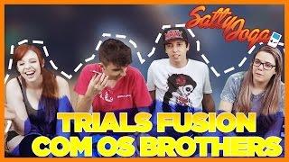 TRIALS FUSION COM OS BROTHERS!   Satty Joga feat. LoiraNoob, Spok e Baixa Memória