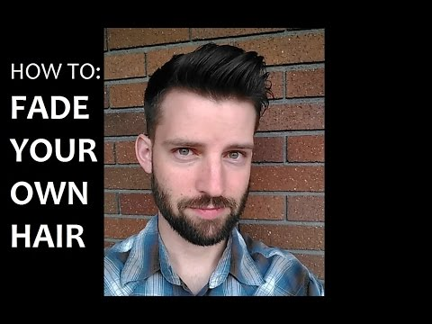 Your Own Hair With Clippers How To Cut Your Own Hair Fade Your Own