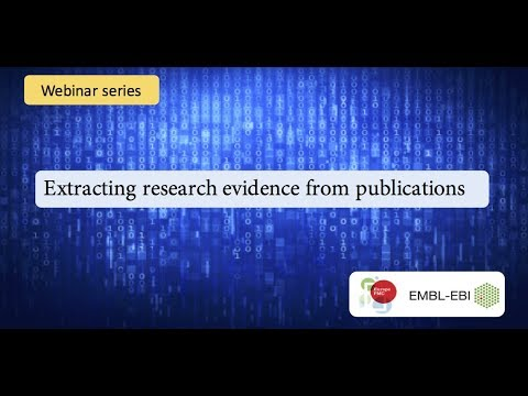 Extracting evidence from research publications