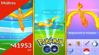 *FIRST EVER* LEGENDARY MOLTRES CAUGHT IN POKEMON GO! NEW LEGENDARY POKEMON MOLTRES!