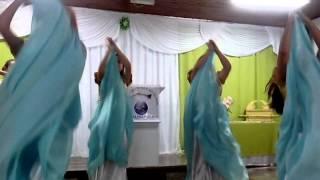 Grupo de Dança Profética Remanescentes- Coreografia Varão de Fogo-Lauriete