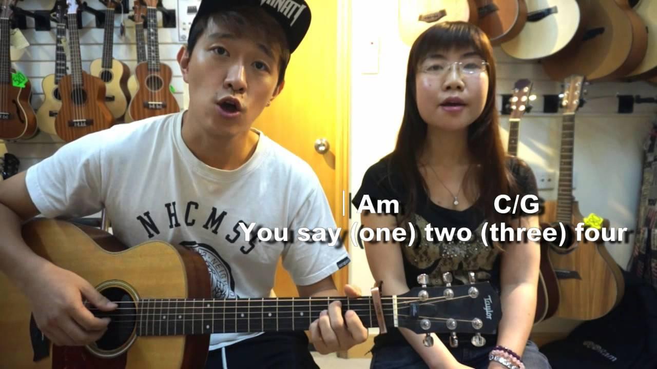 [PolygonGuitar] 吳業坤 陽光點的歌 Cover 有結他譜字幕 - YouTube