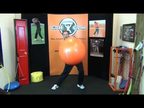 Golf Fitness: How To Exercise And Have Fun Using A Balance Ball