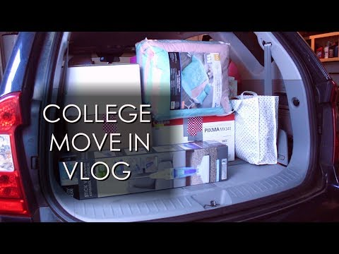 College Move-In Vlog / Sophomore Year / MTSU
