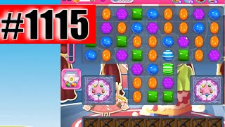 Candy Crush Saga Level 1115, NEW! Complete!