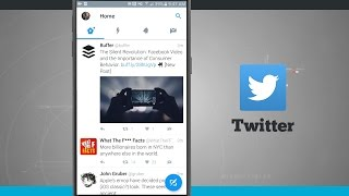 Taking a Look at the New Twitter for Android Design