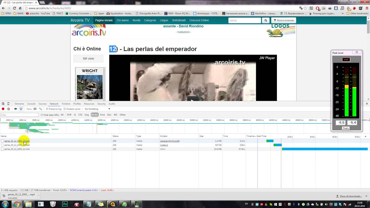 video da flowplayer chrome