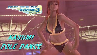 Dead Or Alive Xtreme 3 Kasumi Pole Dance