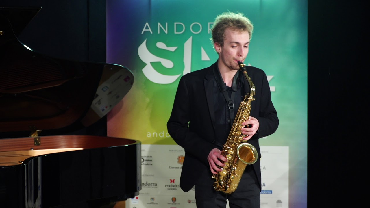 Andorra SaxFest 2019 1st Round   Mathieu Genelot   3rd Caprice by Niccolo Paganini