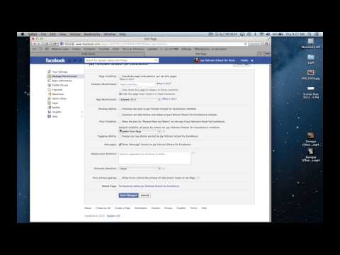 How to create a Facebook page for your school