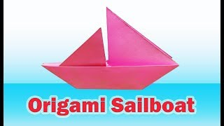 Origami Sailboat -Origami Sailboat Tutorial - HowTo Make AnOrigami Sailboat