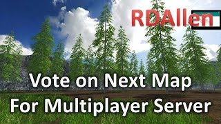 Vote on the Next Multiplayer Map for the RDAllen Multiplayer Server
