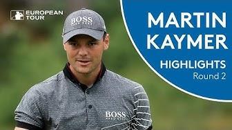 Martin Kaymer Highlights   Round 2   2018 Nordea Masters