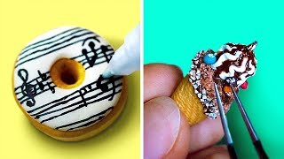 MINIATURE POLYMER CLAY FOOD TUTORIALS