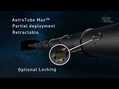 Oxford Space Systems AstroTube Boom Overview