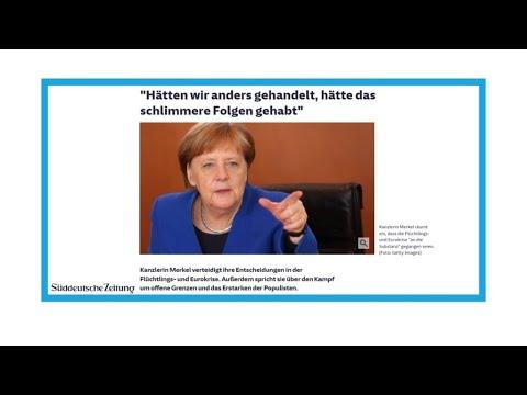 """Angela Merkel et Emmanuel Macron, fin de l'idylle"""