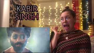 Kabir Singh Teaser &Trailer | Shahid Kapoor, Kiara Advani | Sandeep Reddy Vanga | Reaction by Alexis