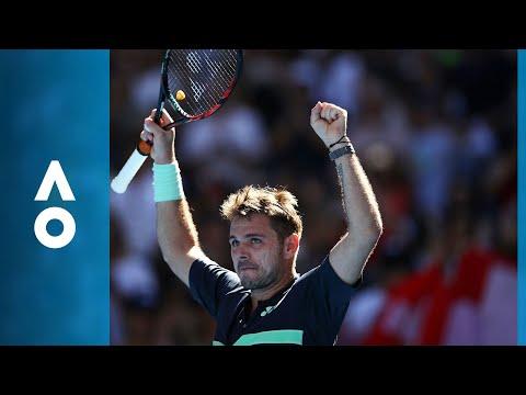 Ricardas Berankis v Stan Wawrinka match highlights (1R) | Australian Open 2018