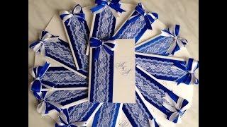 Как сделать свадебные пригласительные!?!?How to make wedding invitations!?!?