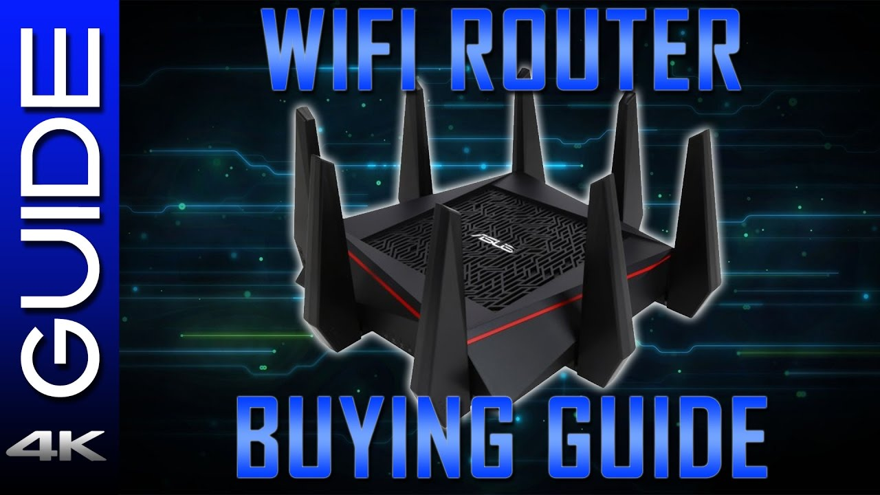 Wireless router buying guide.