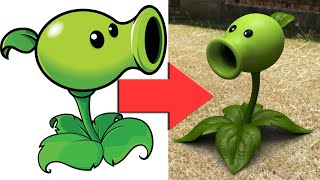Plants Vs Zombies Plants in Real Life