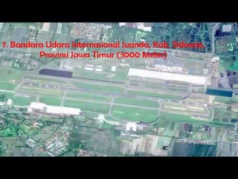 11 Bandara Dengan Landasan Pacu Terpanjang Di Indonesia