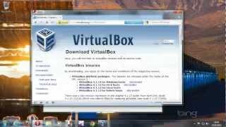 إنشاء جهاز ظاهري في Oracle VM Virtualbox