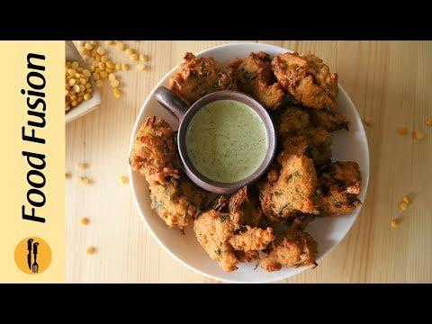 Dal Pakora 3 ways recipes by Food Fusion