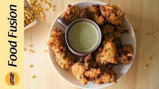 Dal Pakora 3 ways recipes by Food Fusion