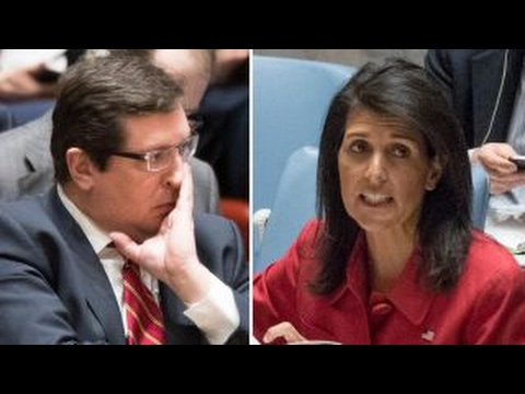 US, Russian Ambassadors Spar At UN Security Council Meeting