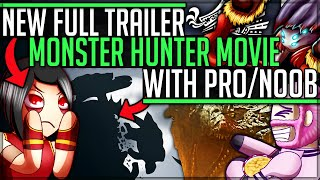 New Greater Rathalos - Monster Hunter Movie Trailer Pro and Noob Breakdown - Monster Hunter! #mhw