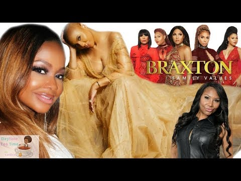 Tamar Braxton THROWS SHADE at Phaedra Parks & DOES NOT want her on Braxton Family Values