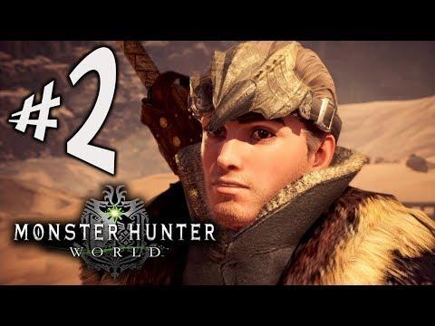 Monster Hunter World - Parte 2: Kulu-Ya-Ku e Barroth!!! [ PS4 Pro - Playthrough ]