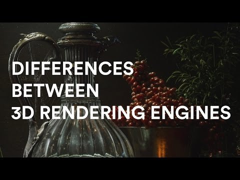 Grant Warwick about Bias and Differences of 3D Rendering Engines