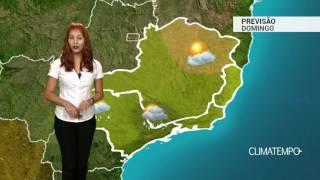 Previsão Sudeste - Mais pancadas de chuva