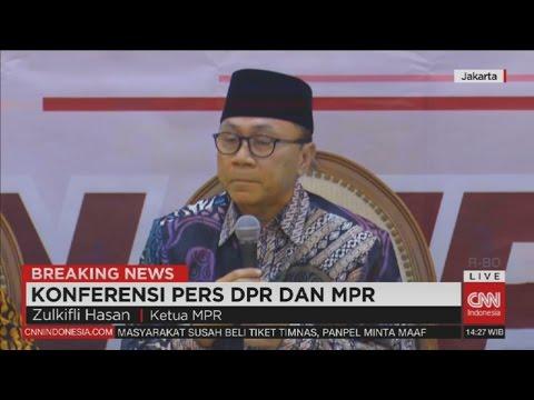 FULL - Now! Breaking News: Konfrensi Pers DPR & MPR Tentang Demo 212