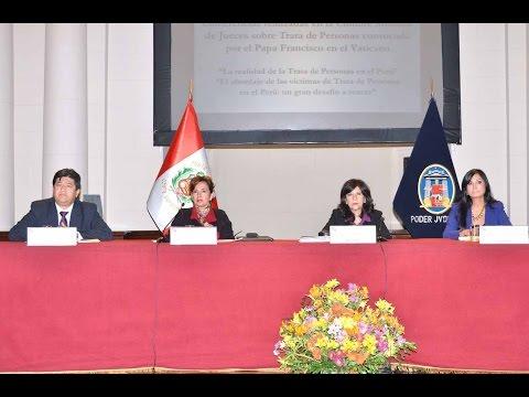 """07/07/2016 - """"Trata de personas en el Perú"""" - Ciclo de conferencias"""