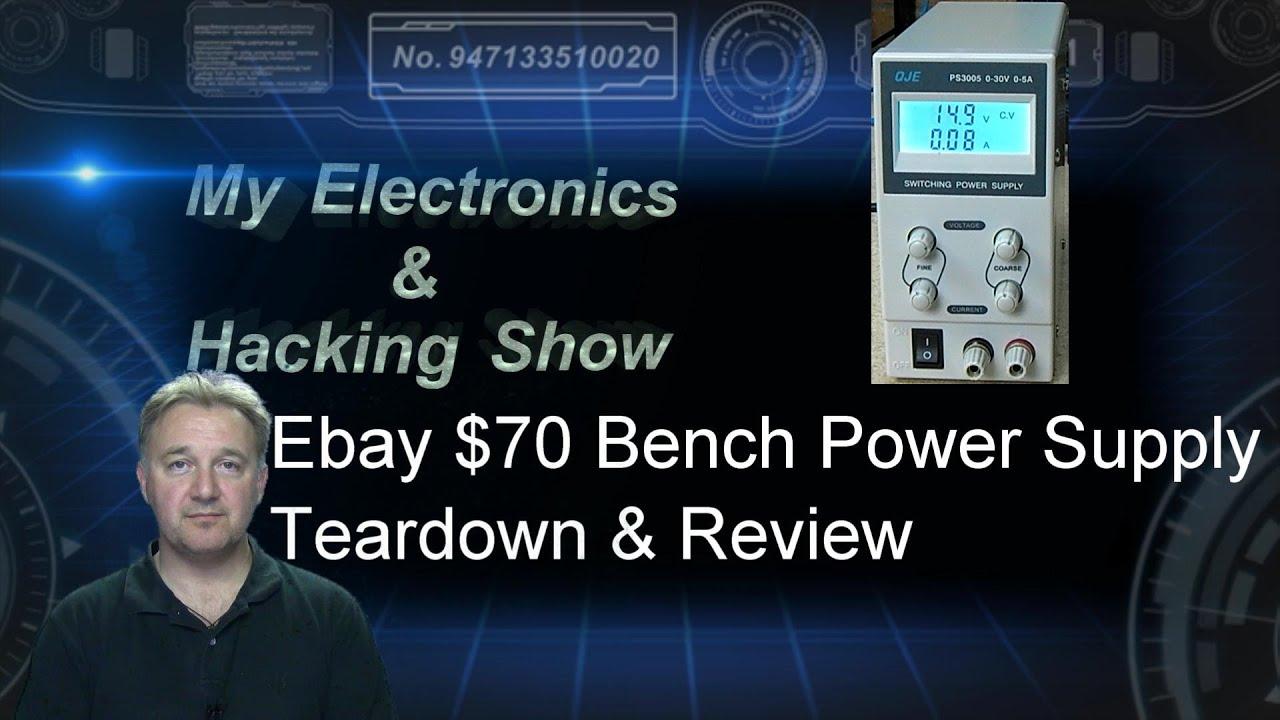 Bench Power Supply Ebay 70 Teardown Review Mehs Episode 23 Top 30v 10amp Construction Photos