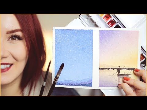 How & Where to Start with Watercolor Painting for Beginners