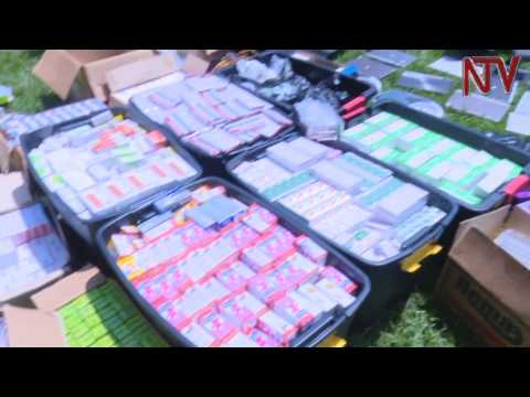 Stolen medical supplies worth Shs300M recovered from residence in Bunga