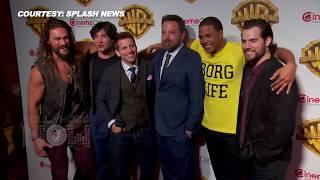 Justice League Cast At CinemaCon 2017 | Ben Affleck, Henry Cavill, Jason Momoa And Zack Snyder